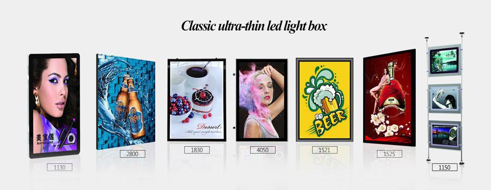 China am besten LED-Leuchtkasten-Zeichen en ventes