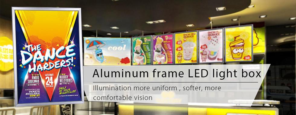 China am besten Schnellleuchtkasten des rahmen-LED en ventes